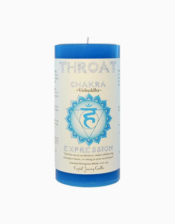 Throat Chakra Candle by Resveralife