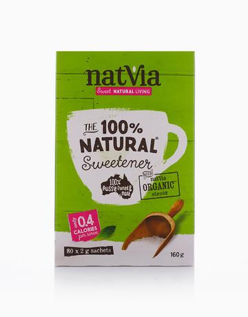 Stevia 80 Stick Pack (2g) by Natvia Organic Stevia