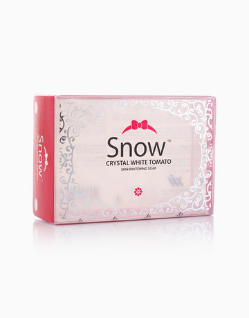 Snow Crystal White Tomato Soap by Snow