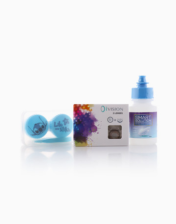 Vintage Flower Contact Lens by O I-Vision Contact Lens