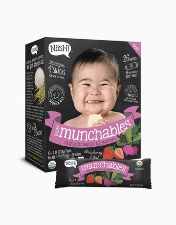 Strawberry Beet Munchables  by Nosh!