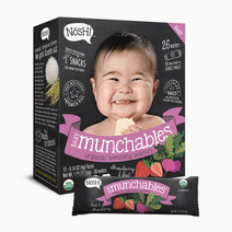Nosh organic vegan baby munchables strawberry beet