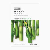 Real Nature Bamboo Face Mask by The Face Shop