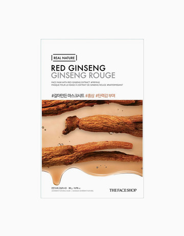 Red Ginseng Face Mask by The Face Shop