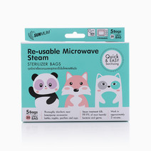 Microwave Steam Sterilizer Bag (5s) by SunMum