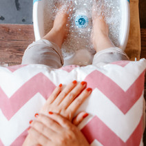 Organic Mani-Pedi + Foot Spa with Dead Sea Mineral Mud Mask by Nails and Beyond