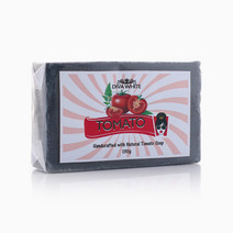 Tomato With Charcoal Soap by Diva White