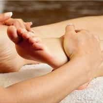 Naked Nail Organic Pedicure with Foot Scrub by Naked Nail Organic Spa Lounge