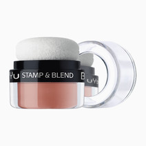Beyu stamp   blend blush orange touch 2