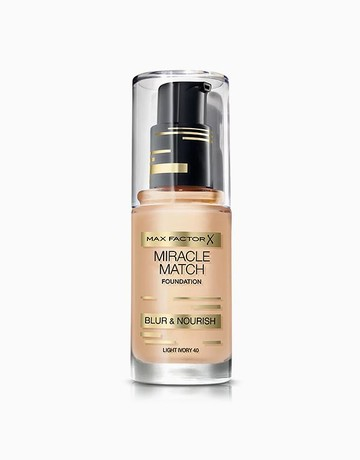 Miracle Match Foundation by Max Factor