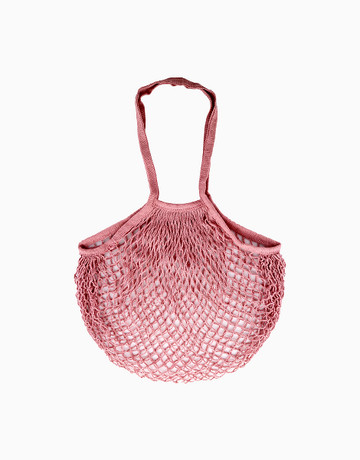 Liwa Mesh Long Handle in Old Rose by SAC MNL