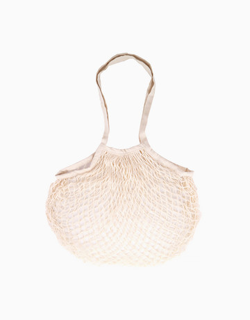 Liwa Mesh Long Handle in Wheat by SAC MNL