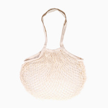 Liwa Mesh Long Handle Cotton Bag in Wheat by SAC MNL
