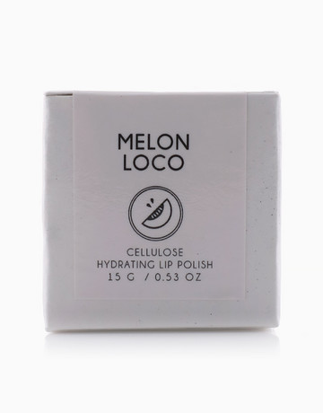 Melon Loco Cellulose Lip Scrub by V&M Naturals