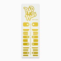 Back to Basics (Gold) by Rad Nails