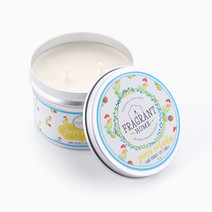 Pina Colada Soy Candle in Tin (6oz) by Fragrant Home Candles