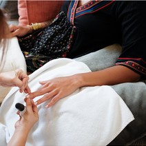 Bliss Hands and Feet Package: Reflexology + Designer Nails by Nail Spa