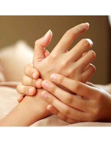 Almond milk hand spa   manicure  copy