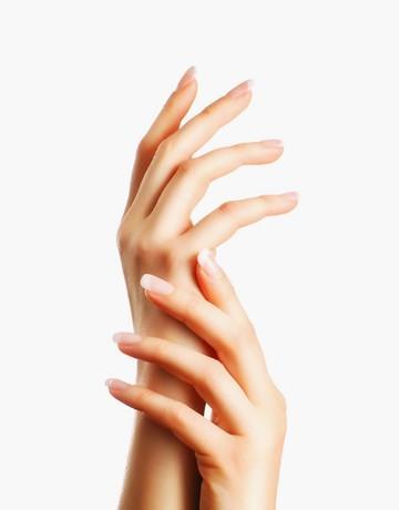 Almond milk hand spa   manicure