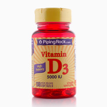 Vitamin D3 5000 IU Softgels by Piping Rock