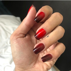 Mood Gel Manicure Using Color-Changing Polish by Nail Mama