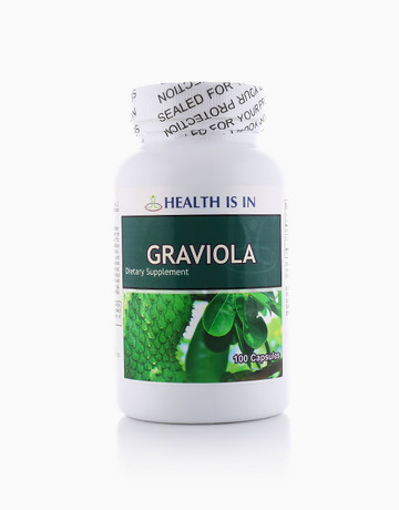 Graviola (100 Capsules) by Health Is In