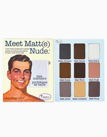 Meet Matte Nude by The Balm