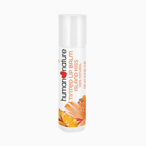 100% Natural Tinted Lip Balm by Human Nature in Island Kiss