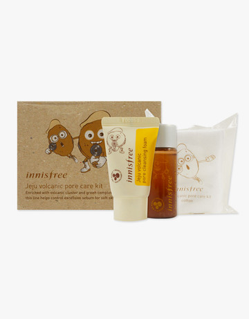 Jeju Volcanic Pore Care Kit by Innisfree