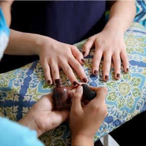 Mani-Pedi & Foot Spa + Hand & Foot Skin Treatment Wrap by Nailaholics Nail Salon and Spa