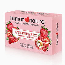 Strawberry Exfoliating Bar by Human Nature in