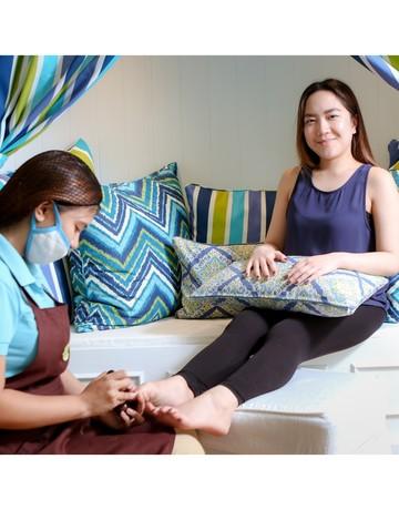 Mani pedi foot spa   hand   foot skin treatment wrap copy 2