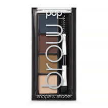 Pop beauty brow shape and shade