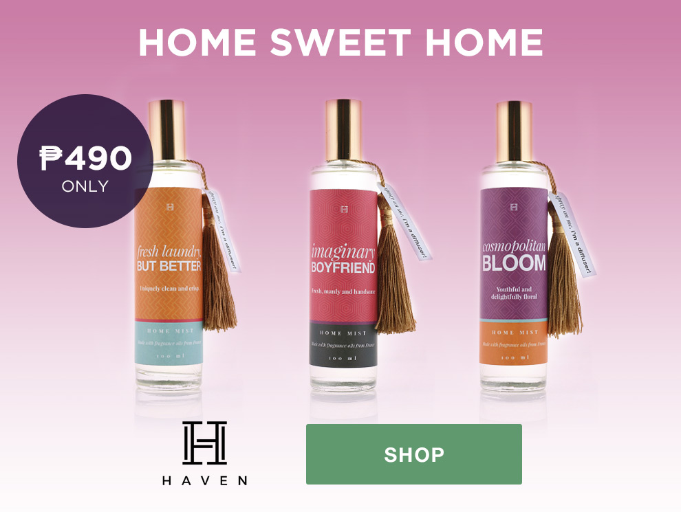 Promo wellness haven home scents