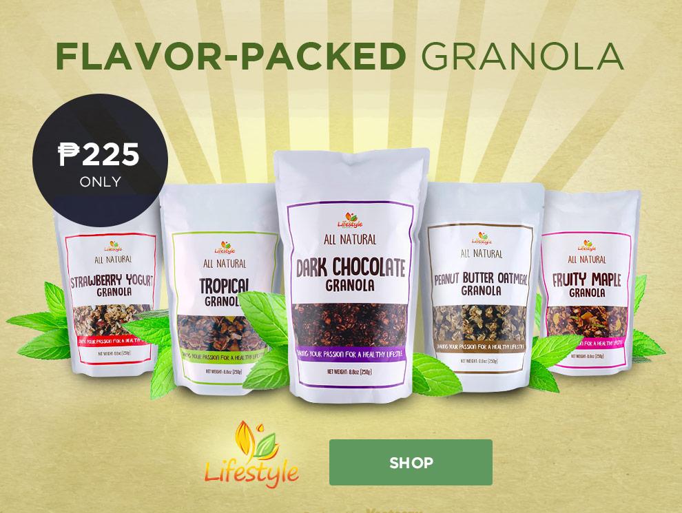 Promobox lifestyle gourmet granola