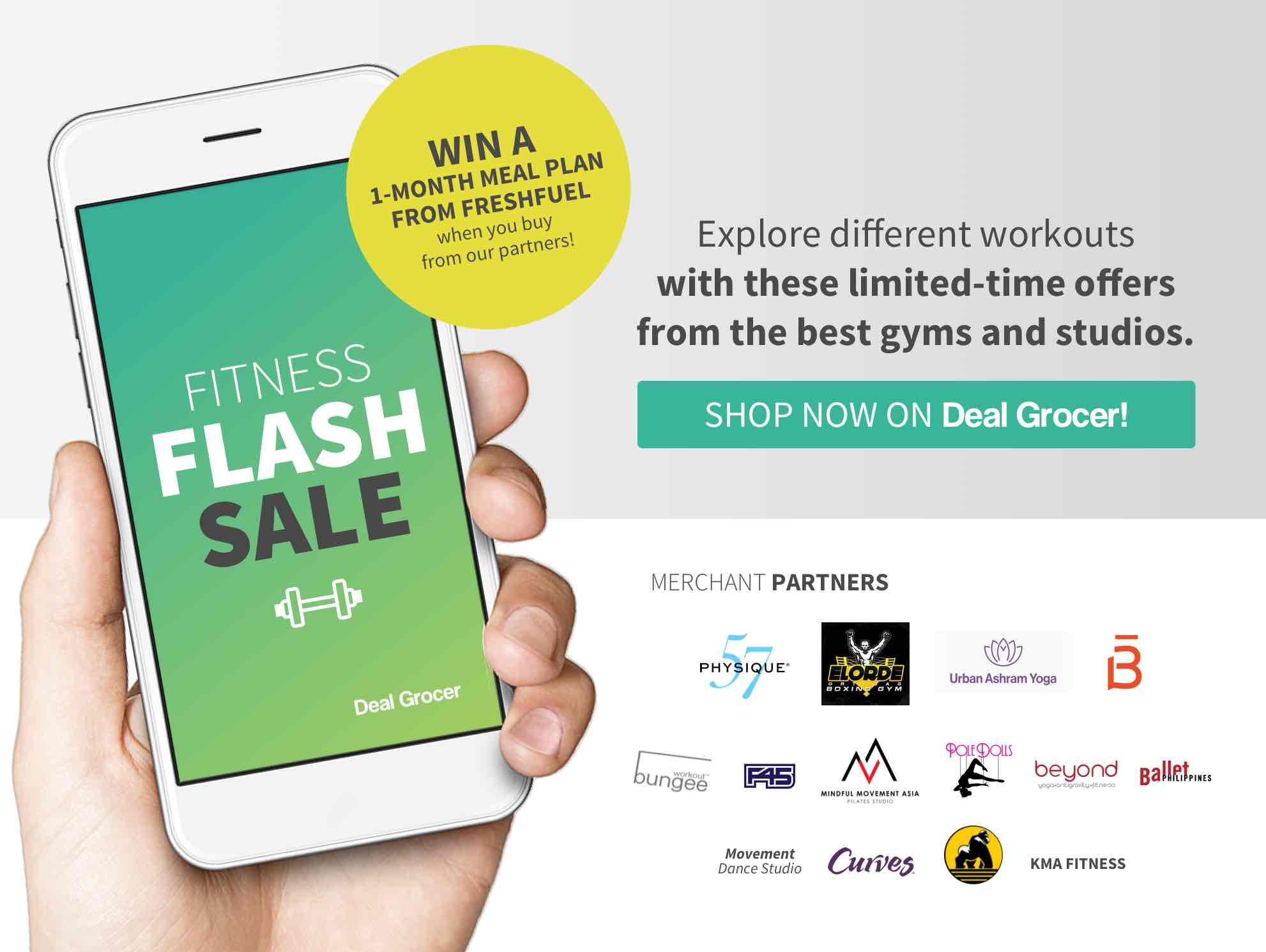 Promo box fitness flash sale rev