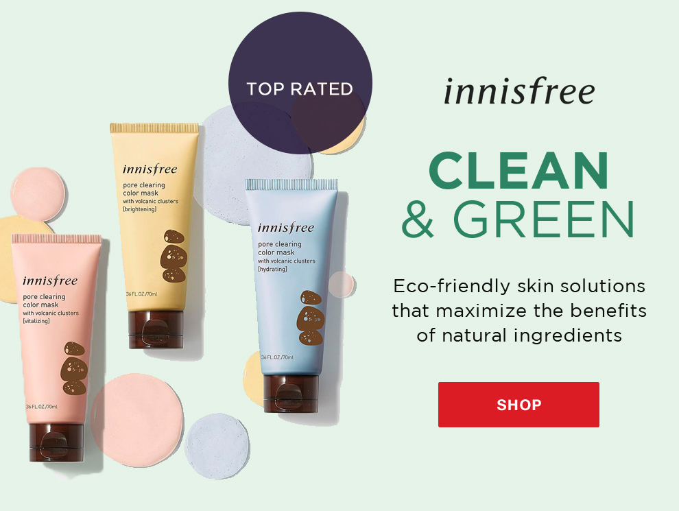 Promo innisfree new
