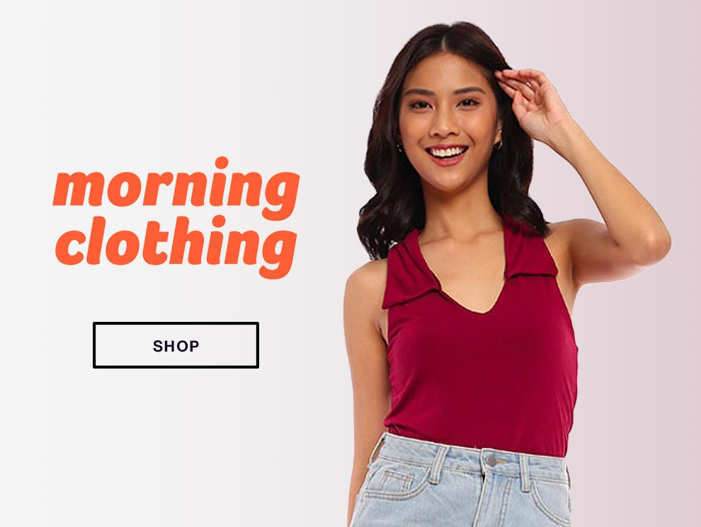 Promo box morning clothing