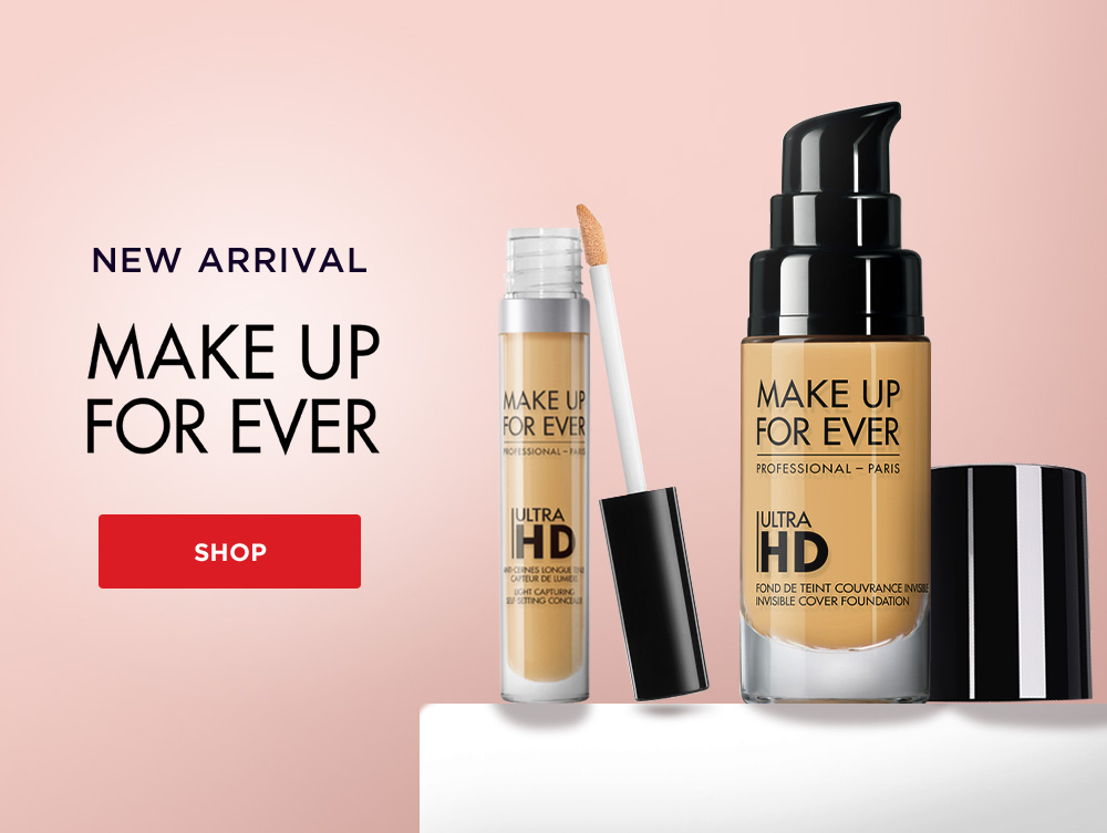 Make up for ever promo box