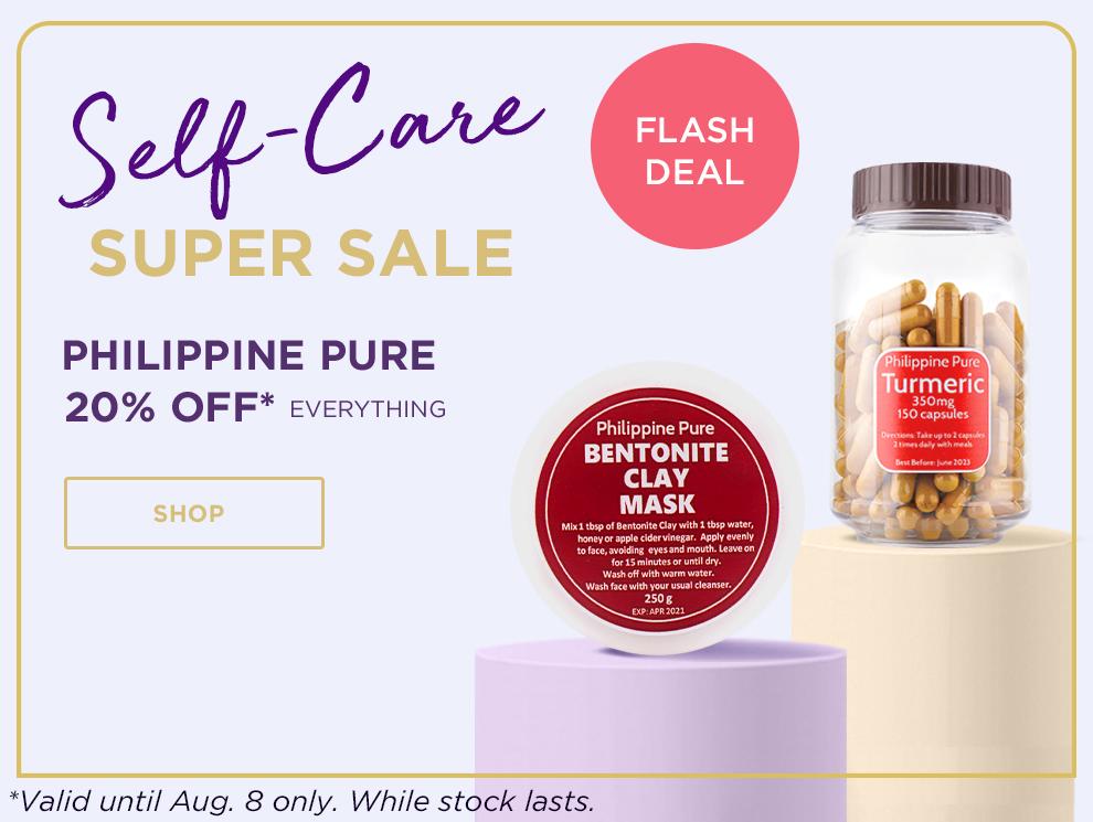 Promo box self care philippine pure v2 flash deal