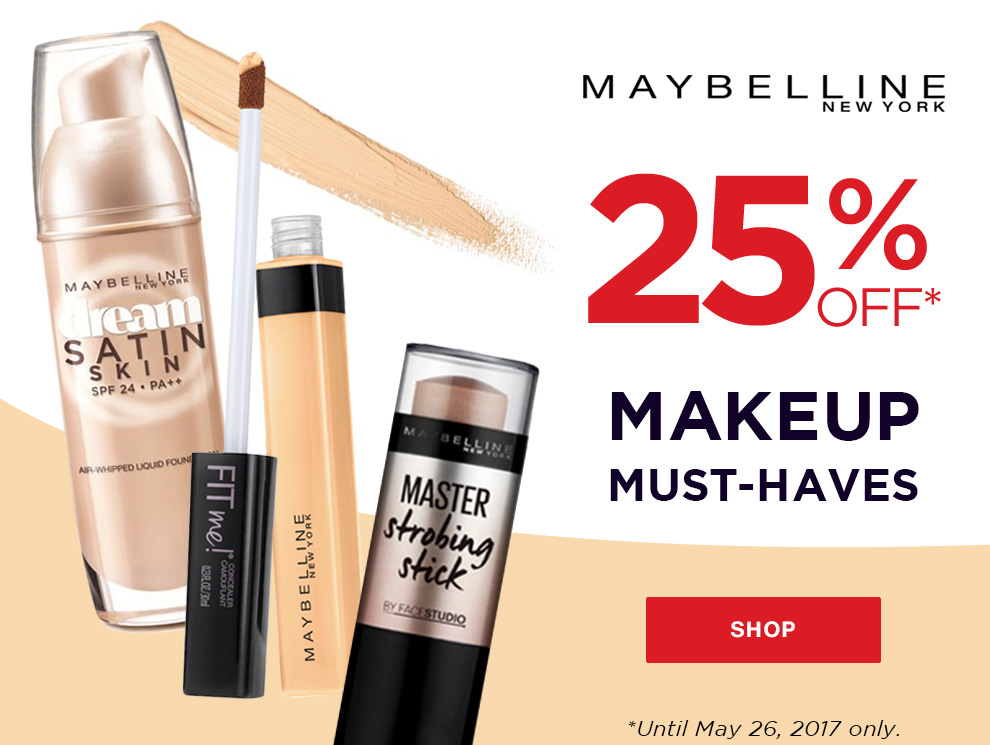 Promo maybelline base