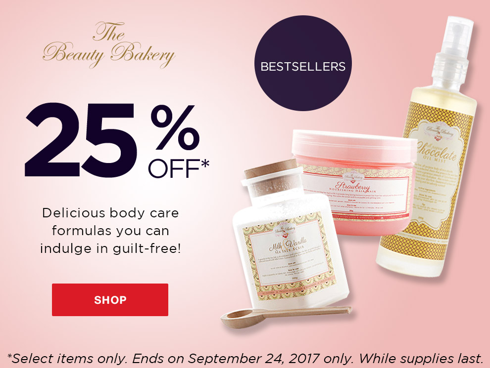 Promo beauty bakery sale