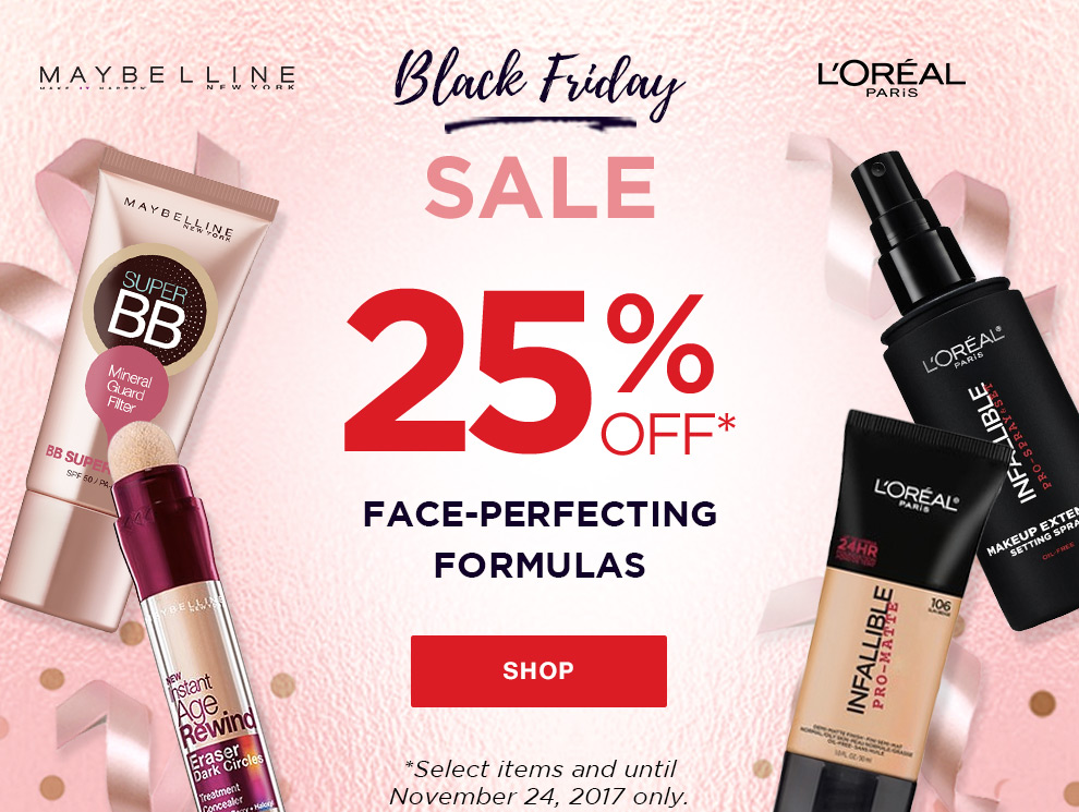 Promo black friday sale loreal maybelline