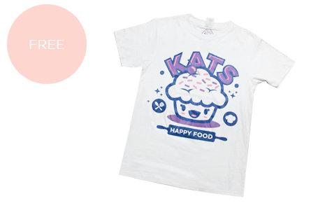 23pts katshappyfood shirt
