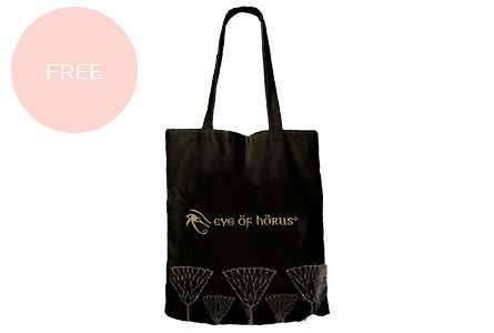 Eye of horus tote bag gwp