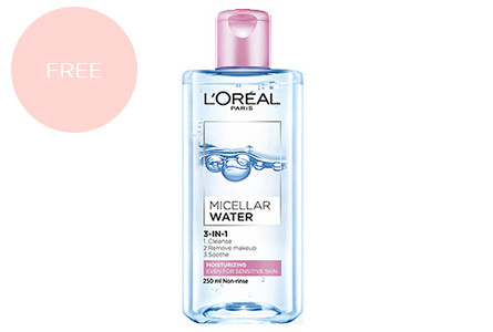 Promo buy 2  take 1 micellar water (moisturizing) copy