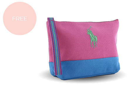 Promo free cosmetic pouch