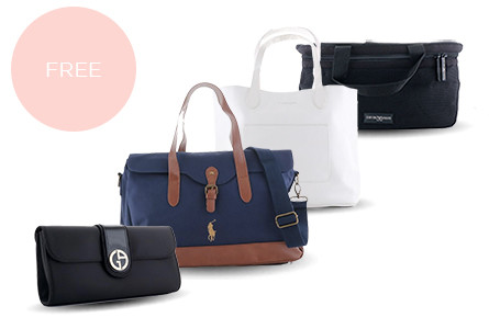 Promo free document holder  tote bag  or weekend bag (1)