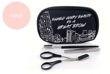 Promo maybelline brow cosmetic pouch