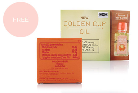 Promo golden cup oil